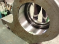 Cylindrical grinder bearing steady