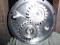 Stainless steel gear housing